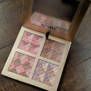 Sephora blush and bronzer palette